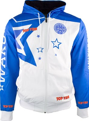 "Felpa con Zip TOP TEN ""WAKO Stars"""