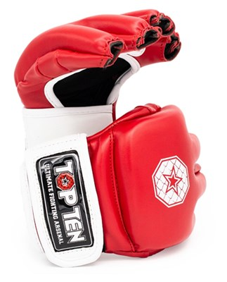 "Striking Gloves TOP TEN MMA ""Striking C-Type"" Red"