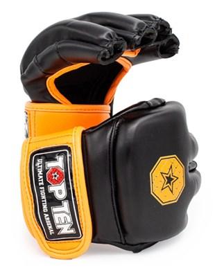 """Striking Gloves TOP TEN MMA """"Striking C-Type"""" Black"""