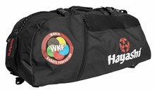 "HAYASHI Sportbag/backpack combo SPORT BAG ""WKF"" Small Black"
