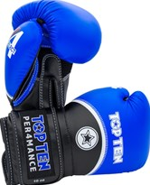 "Guantoni Boxe TOP TEN ""4 Select"" Blu 10/12/14/16 oz"