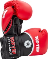 "Boxing Gloves TOP TEN ""4 Select"" Red 10/12/14/16 oz"