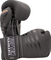 "Boxing Gloves TOP TEN ""4 Select"" Black/Black 10/12/14/16 oz"