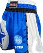 "Pantaloncini Kickboxing TOP TEN ""WAKO STAR"" Blu"