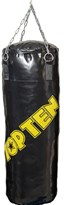 "TOP TEN Punching Bag ""Drill"" 100 cm Yellow"