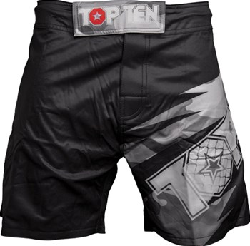 "Pantaloncini TOP TEN MMA ""Scratched"""