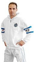 Embroidered TOP TEN TAEKWON-DO hooded sweatshirt