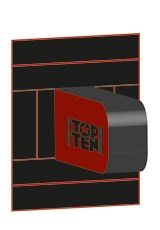 "Bersaglio TOP TEN ""Arm-Leg Target"" M per Power Wall"