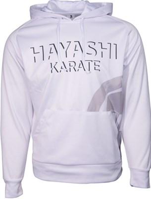 """Hoodie Hayashi """"Wkf Shade"""" White"""