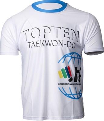 "Maglietta Top Ten ""ITF Shadow"" Bianca"