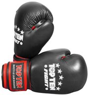 Kickboxing Gloves TOP TEN Fight 10 Oz genuine leather