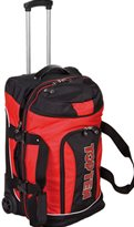 Trolley TOP TEN Deluxe Travel - Jumbo ROSSO/NERO