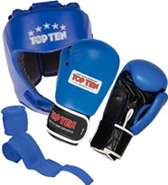 AIBA TOP TEN Boxing Set with label