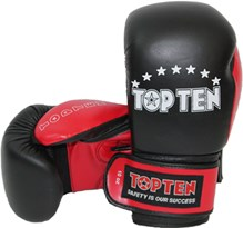 Kickboxing Gloves TOP TEN PRO 10 oz genuine leather