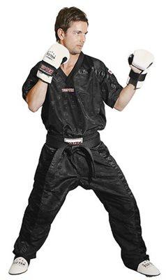 Casacca Kickboxing TOP TEN MESH NERA