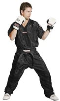 Kickboxing Jacket TOP TEN MESH BLACK