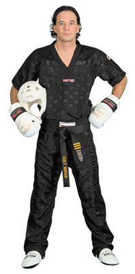 Divisa Kickboxing TOP TEN MESH NERA Special Edition