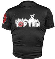 Maglietta TOP TEN MMA Rash Guard manica corta