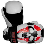 Semi-Contact Gloves TOP TEN PointFighter Skull