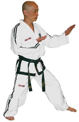 "Dobok Taekwondo TOP TEN ITF ""DIAMOND GRANDMASTER"""