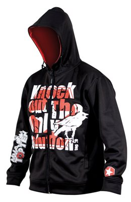 """Hooded jacket TOP TEN MMA """"Knock out"""""""