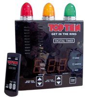 Digital audiovisual timer with remote TOP TEN