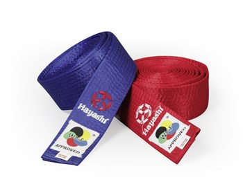HAYASHI Martial Arts belt (WKF approved)